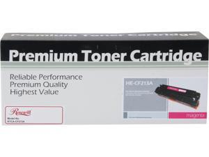 Rosewill RTCA-CF213A High Yield Universal Replacement Toner Cartridge for HP 131A CF213A, and Canon 131 (6272B001); Magenta