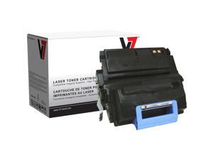V7 V745A Black LaserJet Replacement Toner Cartridge with Smart Chip for HP Q5945A