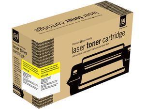 Print-Rite TRHE58YRUJ Yellow Toner Cartridge Replacment for HP CF212A