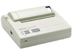 Seiko DPU414-BD Thermal 203 dpi Label Printer Kit Bundle P/S Cable and Ser Adapter