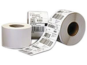 "Thermamark Consumables Topcoated Freezer Grade Adhesive Paper Label Direct Thermal 4"" X 2"" 1"" Core 5"" Od 1240 Labels"