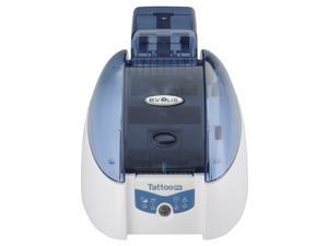Evolis Tattoo Rewrite (TTR201BBH) Direct Thermal 300 dpi ID Card Printer