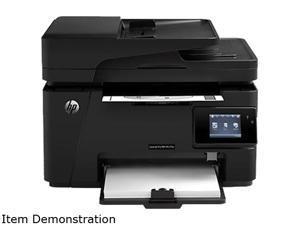 Hp Laserjet Pro M127fw(CZ183AR#BGJ) MFP 21 ppm 600 x 600 dpi 150-Sheet 128 MB Enet / USB / Wifi Mono Laser Printer / Copier / Scanner / Fax Factory Recertified