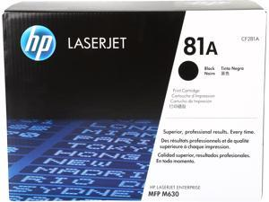 HP 81A LaserJet Toner Cartridge (CF281A)&#59; Black