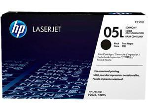 HP CE505L Toner Cartridge, 1000 Pages Yield&#59; Black
