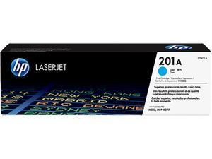 HP CF401A Toner Cartridge, 1400 Pages Yield&#59; Cyan