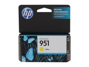 HP 951 (CN052AN#140) Officejet Ink Cartridge 700 page yield for OfficeJet Pro 8100, 8600&#59; Yellow