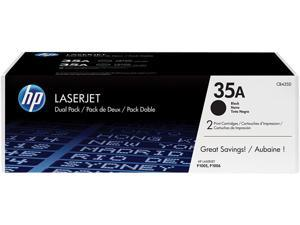 HP 35A Black 2-pack LaserJet Toner Cartridges (CB435D)