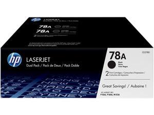 HP 78A Black 2-pack LaserJet Toner Cartridges (CE278D)