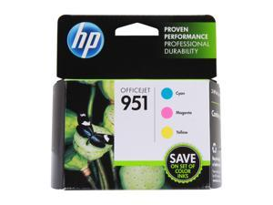 HP 951 (CR314FN) 3-pack Ink Cartridges - Cyan/Magenta/Yellow