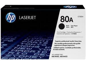HP 80A Black Original LaserJet Toner Cartridge (CF280A)
