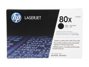HP 80X (CF280X) High Yield Original LaserJet Toner Cartridge&#59; Black
