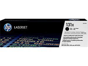 HP 131X Black High Yield LaserJet Toner Cartridge (CF210X)