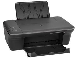 HP J410E InkJet Color USB 2.0 All-in-One Color Inkjet Scanner Copier Photo Printer (Black)