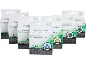 Green Project H-02(7pk) Ink Cartridge Replaces  HP