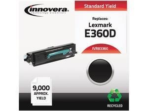 Innovera IVR83360 Black Compatible Remanufactured E360H21A (E360D) Toner