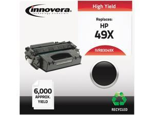 Innovera IVR83049X Black Compatible Remanufactured Q5949X (49X) Laser Toner