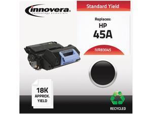 Innovera IVR83045 Black Compatible Remanufactured Q5945A (45A) Laser Toner