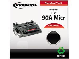 Innovera IVRE390AM Black Compatible Reman CE390A(M)(90A MICR) MICR Toner