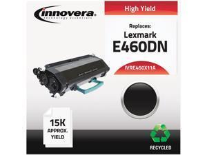 Innovera IVRE460X11A Black Compatible Remanufactured (E460DN) Toner