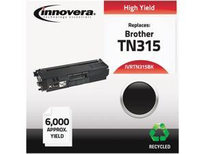 Innovera IVRTN315BK Black Compatible Remanufactured TN315BK (TN315) Toner