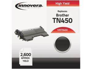 Innovera IVRTN450 Black Compatible Remanufactured TN450 Laser Toner