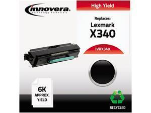 Innovera IVRX340 Black X340 (X340) High-Yield Toner