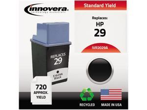 Innovera 2029A Compatible Remanufactured 51629A (29) Ink Cartridge Black