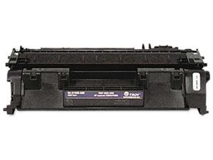 Troy 02-81500-500 (replaces HP OEM # CE505A) MICR Toner, 2300 page yield &#59; Black