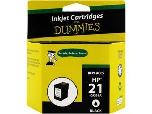 Ink for Dummies DH-21(C9351AN) Black Ink Cartridge Replaces HP 21 (C9351an)