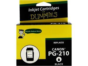 Ink for Dummies DC-PG210BK Black Ink Cartridge Replaces Canon PG-210 (2974B001