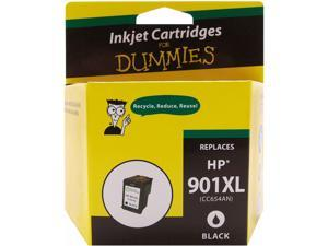 Ink for Dummies DH-901XLBK(CC654AN) Black Ink Cartridge Replaces HP 901XL BK (CC654AN)
