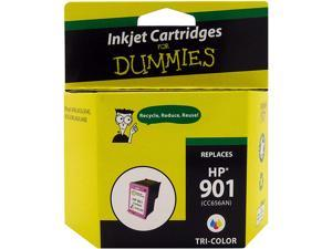 Ink for Dummies DH-901CMY(CC656AN) 3 Colors Ink Cartridge Replaces HP 901 CMY (CC656AN)
