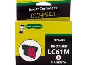Ink for Dummies DB-LC61M Magenta Ink Cartridge Replaces Brother LC-61M