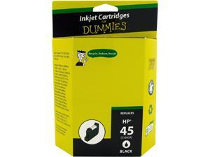 Ink for Dummies DH-45(51645A) Black Ink Cartridge Replaces HP 45 (51645A)