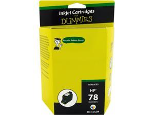 Ink for Dummies DH-78(C6578DN) 3 Colors Ink Cartridge Replaces HP C6578DN (HP 78)