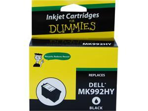 Ink for Dummies DD-MK992HY Black Ink Cartridge Replaces Dell Series 9 (MK992)