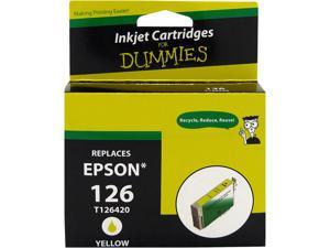 Ink for Dummies DE-T1264 Yellow Ink Cartridge Replaces Epson T1264