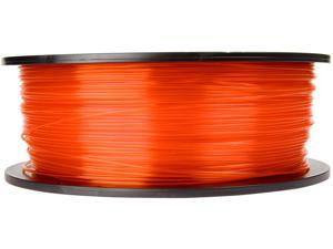 Makerbot MP05187 Translucent Orange 1.75mm PLA plastic Filament