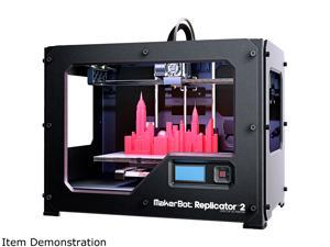 Makerbot Replicator 2 Black Fused Filament Fabrication 3D Printer