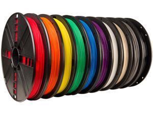 True Color Large PLA Filament 10-Pack
