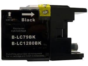 brother B-LC79BK Black Ink Cartridge Replaces Brother LC79BK,LC79-BK,LC-79 BK,LC79-BK