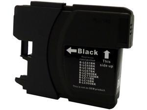 Green Project B-LC61BK Black Ink Cartridge replaces Brother LC61BK