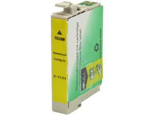 Green Project E-T1254 Yellow Ink Cartridge Replaces Epson T125420