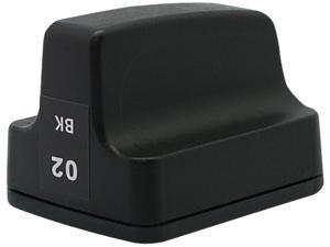 Green Project H-02BKSY(C8721WN) Black Ink Cartridge