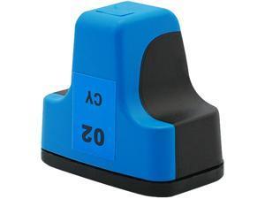 Green Project H-02C(C8771WN) Cyan Ink Cartridge