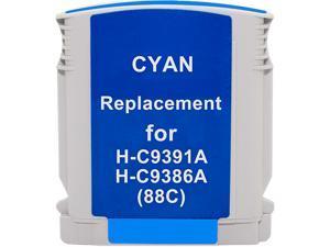 Green Project H-88XLC(C9391AN/9386AN) Cyan Ink Cartridge