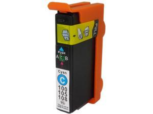 Green Project replacement Lexmark 14N1093 (100XLC) Inkjet-Cyan - Retail