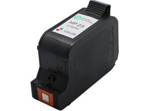 Green Project H-23(C1823A) 3 Colors Ink Cartridge Replaces HP 23(C1823A)