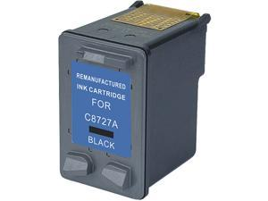 Green Project H-27(C8727an) Black Ink Cartridge Replaces HP 27(C8727an)